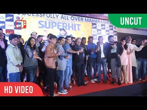 UNCUT - Boyz Marathi Movie Success Party | Sumant Shinde, Parth Bhalerao, Pratik Lad, Ritika Shrotri