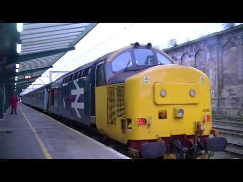 Trainspotting @ Carlisle WCML Including Scot Guardsmans  11/3/2017