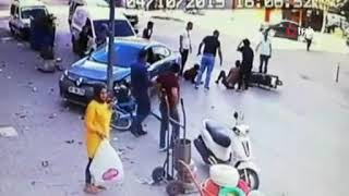 Feci kaza kameralara yansıdı