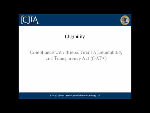 2017 VOCA Legal Assistance Notice of Funding Opportunity Webinar March 6, 2017