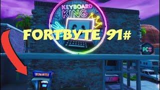 Secret reward week 4 season 9 - Fortnite - Fortbyte 91 #