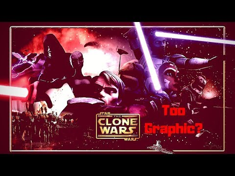 NPC Disney Cancelled Star Wars Clone Wars for Being Too Graphic