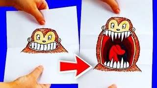 15 Drawing Hacks For Beginners | Cool Drawing Tricks | Craft Factory