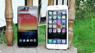 Umi Super vs Iphone 6 Plus