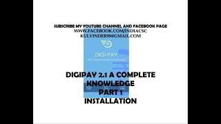 NEW DIGIPAY 2.0 installation Part 1 (HINDI) www.facebook.com/indiacsc👍