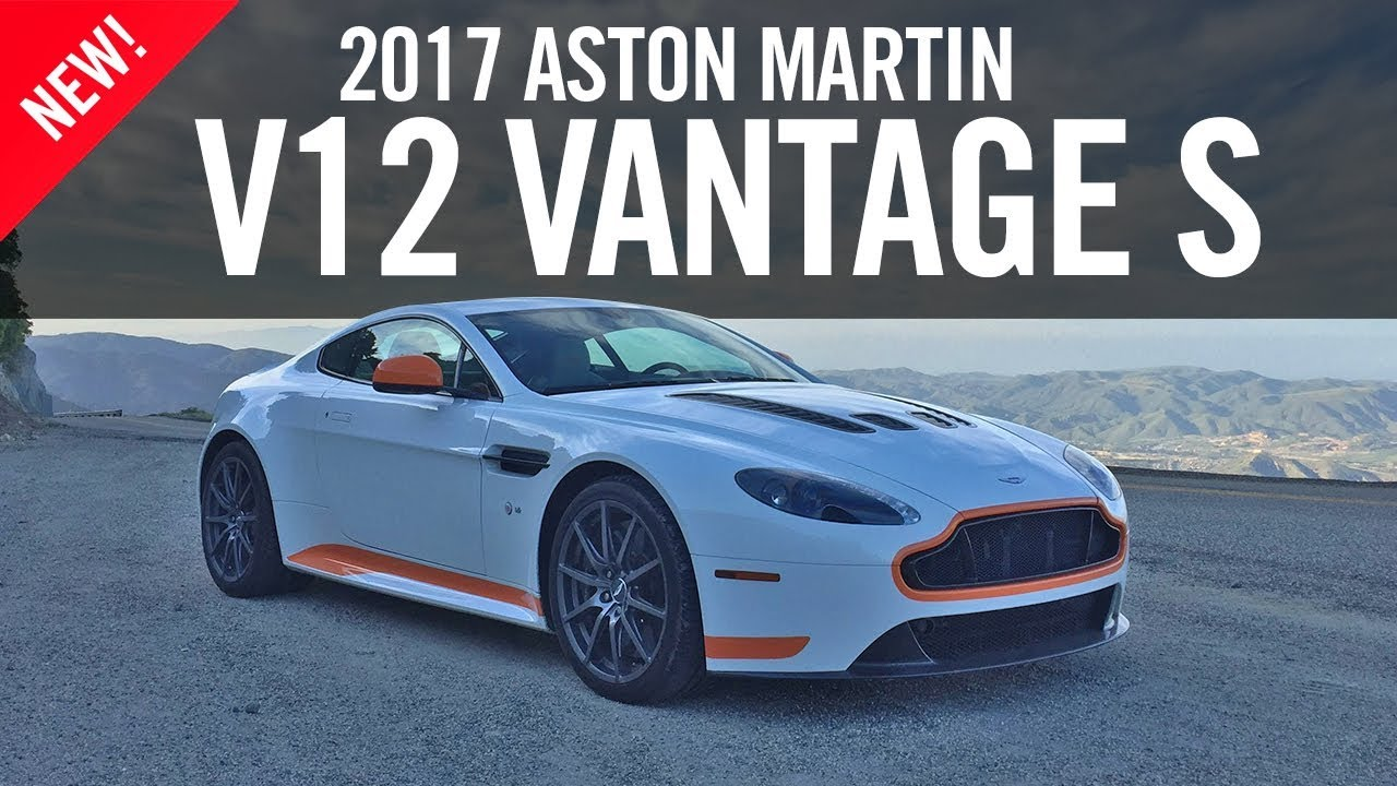 aston martin v12 vantage s manual review road test final drive 4k