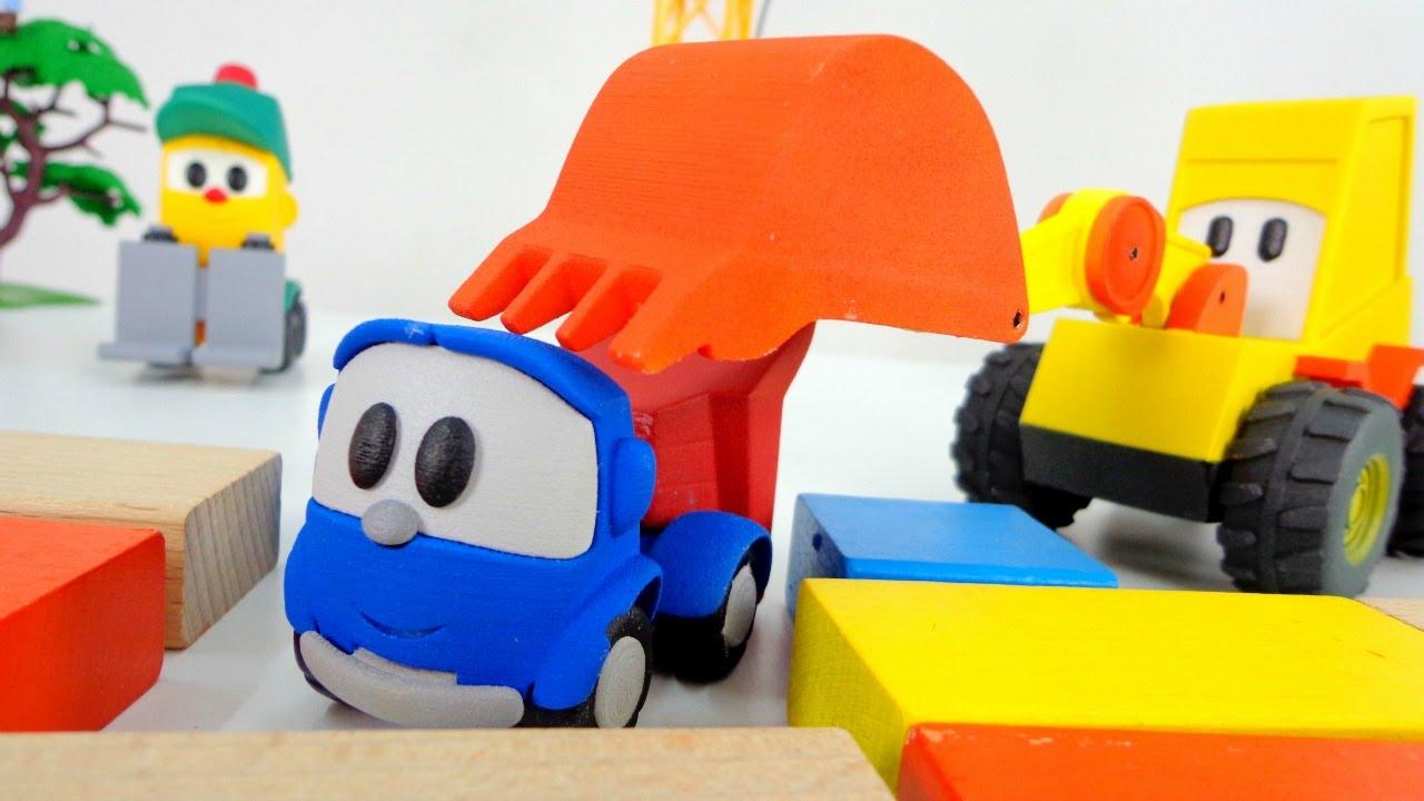 Купить игрушки грузовичок лева