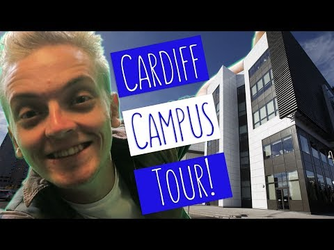 CARDIFF CAMPUS TOUR! | Tom Takes You On A Tour Of USW Cardiff