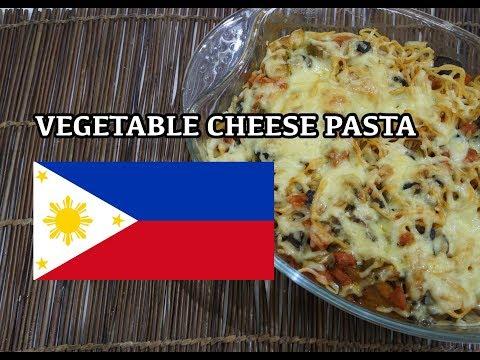 🇵🇭 Vegetable Pasta Cheese - Filipino Pinoy Tagalog
