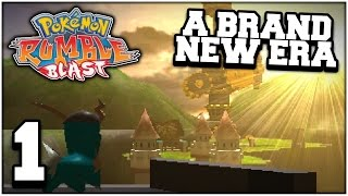 Pokemon Rumble Blast - Part 01 (Nintendo 3DS Playthrough)