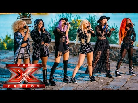Alien Uncovered turn Bad Girls! | Judges Houses | The X Factor 2015