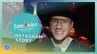 Eurovision artists on Instagram: The story behind the picture thumbnail