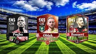 POGBA 96 + OBLAK 98 + BONUCCI 96 ! FIFA MOBILE PL