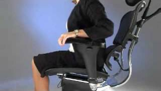 Equip Office Furniture - Ergo Office Chair Operating Instructions