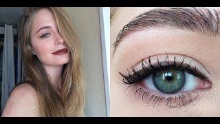 Осенний макияж с темными губами 2016: видео-урок