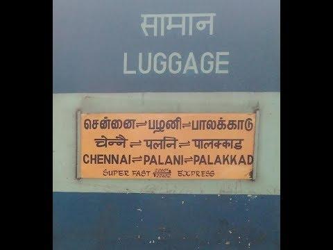 22652 | Palakkad / Palani - Chennai Central SF Express (Via Palani) Departed from Dindigul