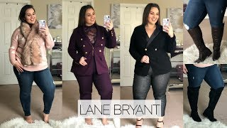 Lane Bryant Try-On Haul |Suits & BOOTS|
