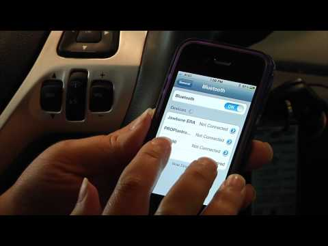 How To Pair Your iPhone with Ford Sync
