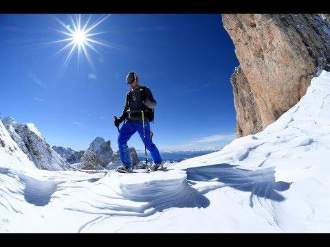 Skitour durch die Dolomiten: Von Kolfuschg nach Campill