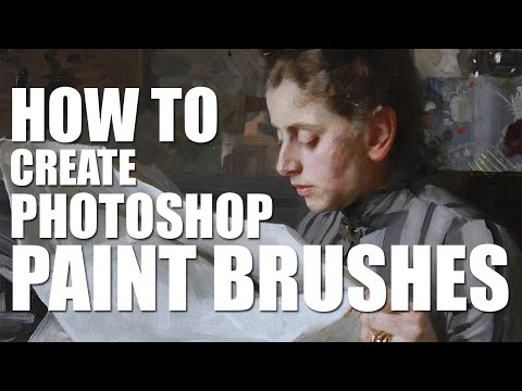 How to Create Photoshop Paint Brushes - 8 Useful Brushes for Digital Painting