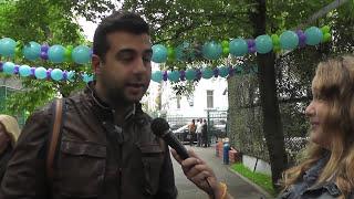 Мини-интервью с Ургантом