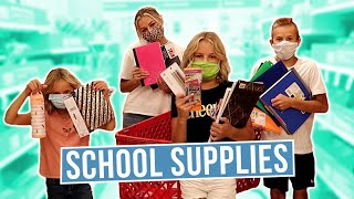 BACK TO SCHOOL SHOPPING HAUL |  BUYING SCHOOL SUPPLIES | WHAT'S IN OUR BACKPACKS