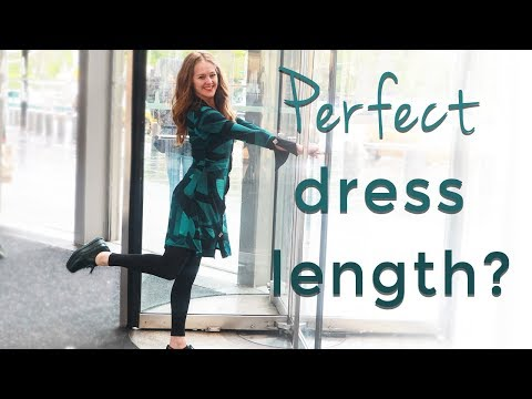 How to dress when you are short for women over 40 - dress length for short women over 40