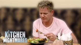 Dry, Frozen, Bland Food Leaves Gordon Ramsay Very Unhappy | Kitchen Nightmares