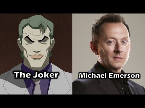 Characters and Voice Actors - Batman: The Dark Knight Returns