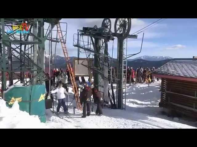 Hivers 2014 - Les Angles le village station en Pyrénées Catalanes