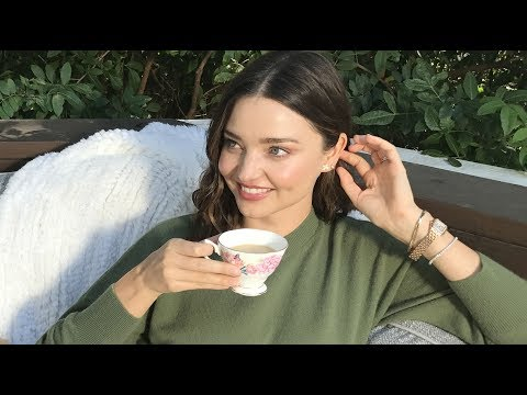 Miranda Kerr's Wellness Routine For The Holidays