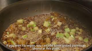 Рецепт для Meat Free Monday на Английском языке