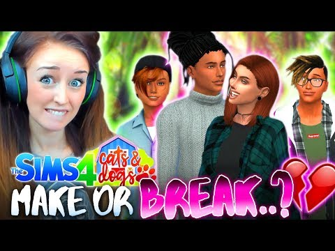 💔MAKE OR BREAK HOLIDAY...🌴 (The Sims 4 CATS & DOGS #29 🏖)