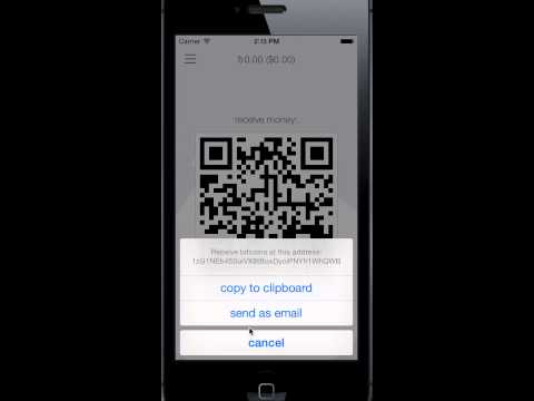 Demo for BreadWallet iOS Bitcoin Wallet