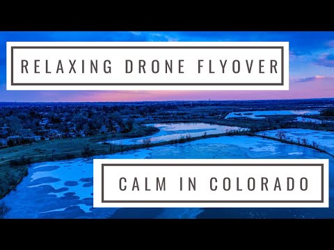 Northern Colorado Relaxing Drone Flyover In Fort Collins