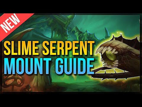 SECRET Plaguefall Mount ★ Slime Serpent MOUNT GUIDE: Skips & Tips