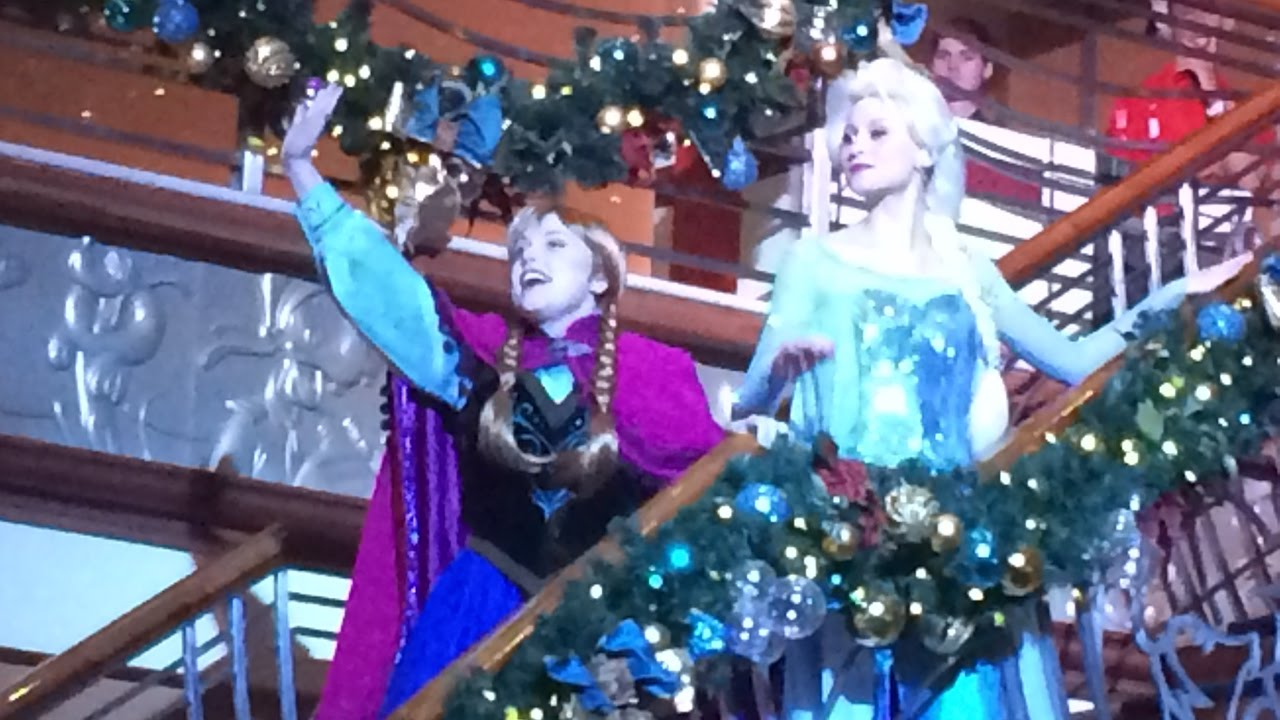 disney magic december 2016 very merrytime christmas cruise day 1 part 1