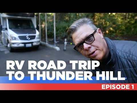 RV Road Trip & Motorcycle Track Weekend @ Thunder Hill!🏍🚐