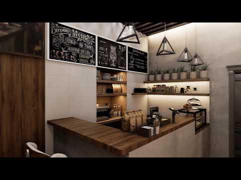 Дизайн интерьера мини-кафе