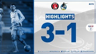 Match Highlights: Charlton Athletic 3-1 Bristol Rovers