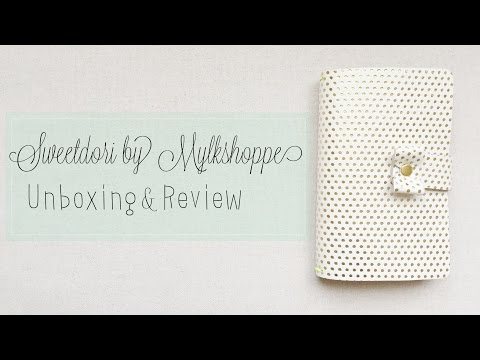 Sweetdori by Mylkshoppe Unboxing & Review (fauxdori/midori travelers notebook inspired)