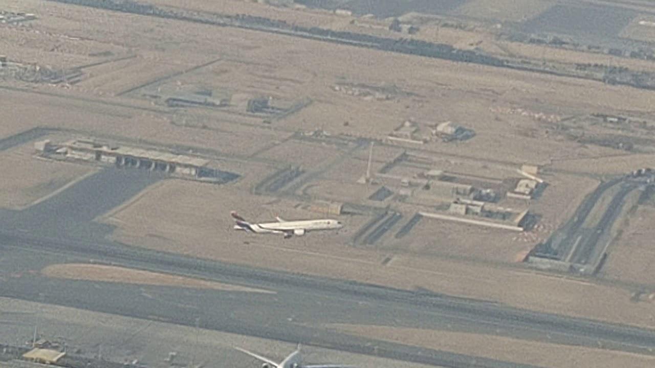 【ドーハ・ハマド国際空港】離陸🛫 - Qatar Airways