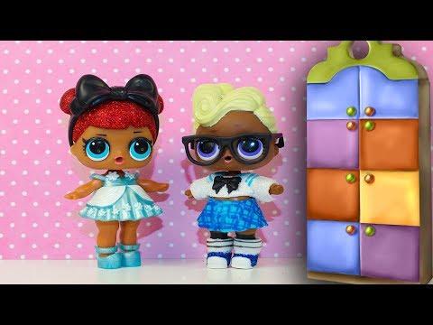 Куклы ЛОЛ Мультик #ЛОЛ ОДЕВАЛКИ Видео для детей Игрушки для девочек LOL Surprise dolls