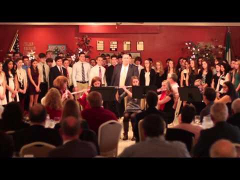 Watertown High School - Select Choir and Flute Ensemble (Christmas 2014)
