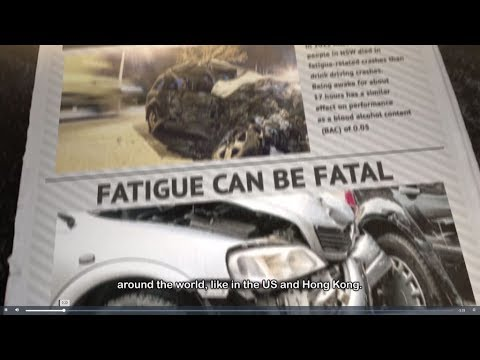 Fatigue Driving Detection and Alarm System