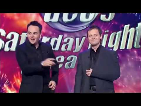 First Show After Dec's Motorcycle Accident   Saturday Night Takeaway 2005