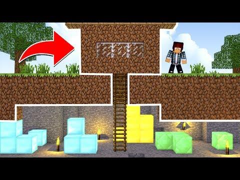 Minecraft - CASA MAIS SECRETA DO MINECRAFT !!