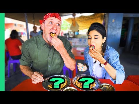 India's Best Breakfast Costs 14 Cents! Amazing Punjabi Street Food!