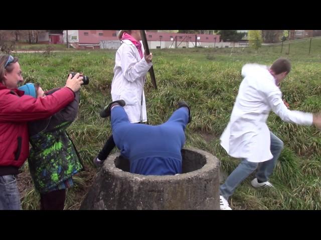 Groteska - záběry z natáčení