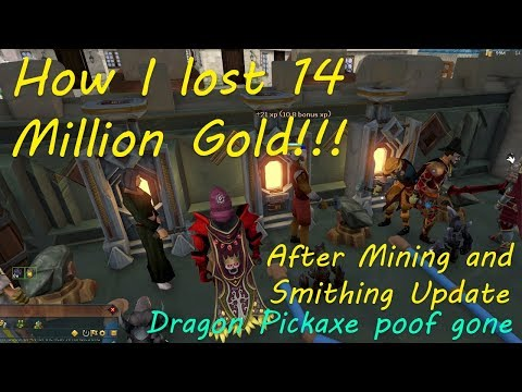 How I Lost 14 Million After Mining And Smithing Update